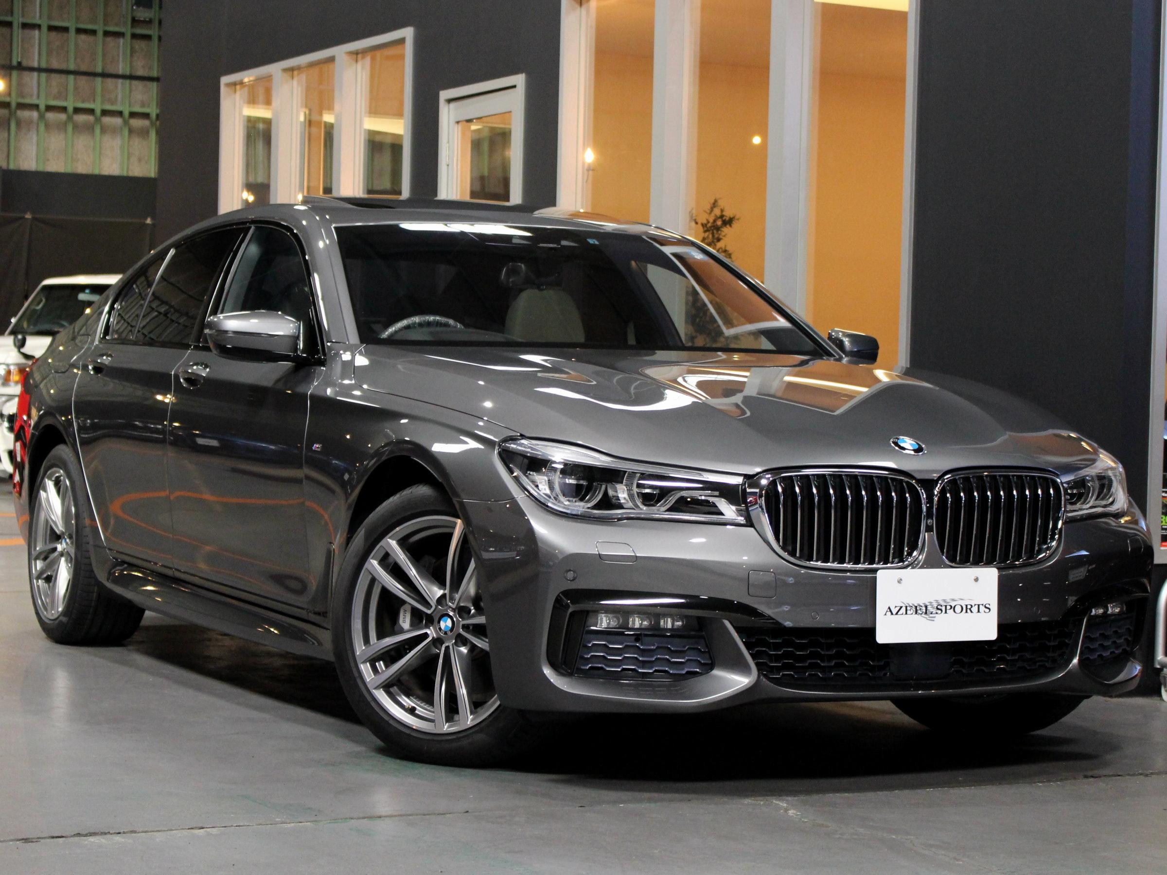 BMW 740ⅰ Mスポーツ リアエンターテイメント&リアコンフォートPKG