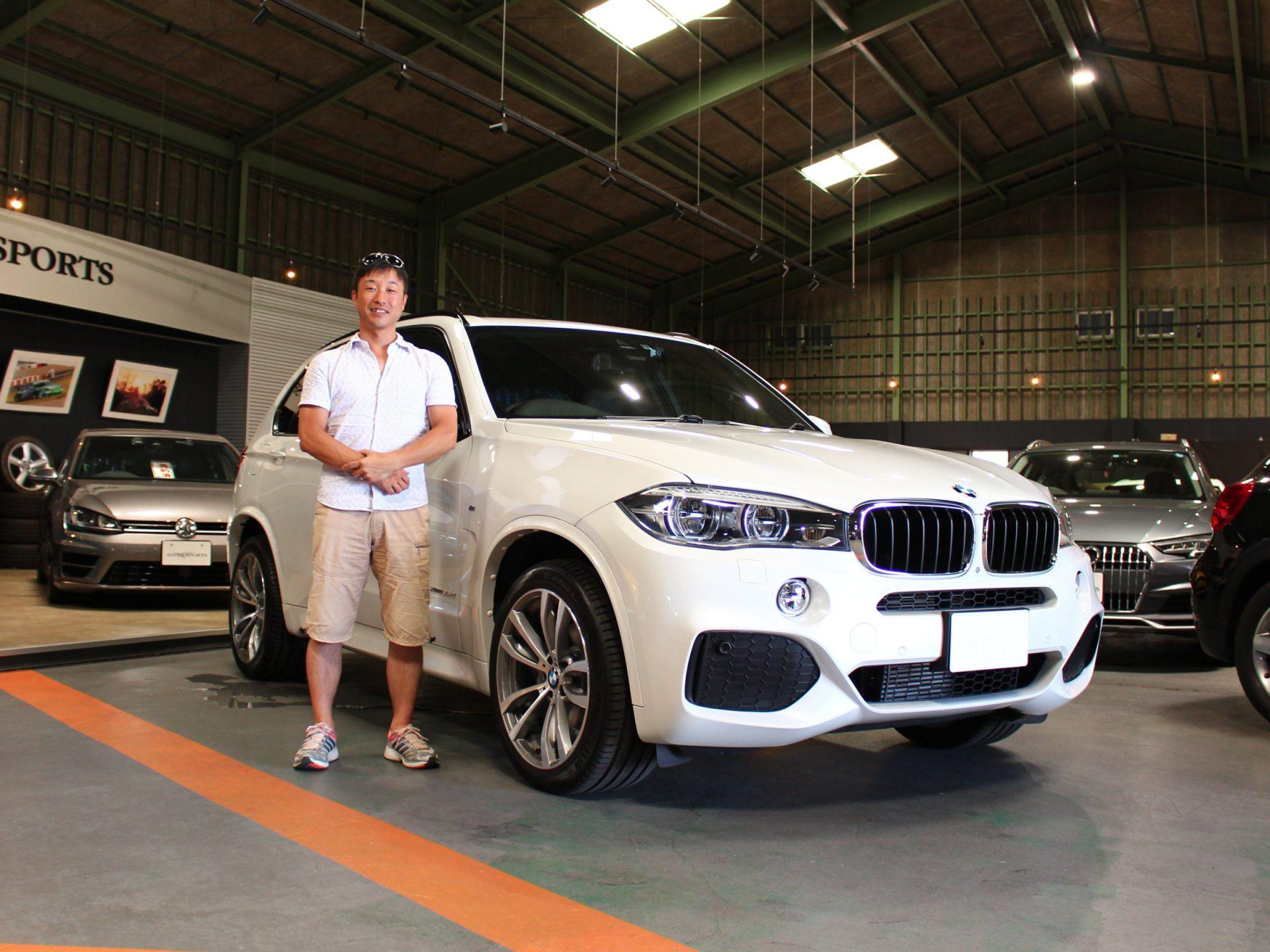 BMW X5 ⅹドライブ35d Mスポーツ